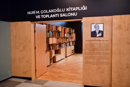 'Nuri M. Çolakoğlu Kitaplığı ve Toplantı Salonu' Beylikdüzü'nde açılıyor