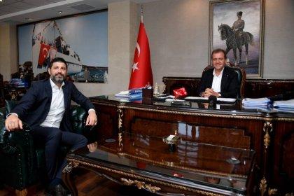 Ömer Onan'dan Başkan Seçer'e ziyaret: 'Mersin'de basketbolu ileri seviyelere taşıyacağız'