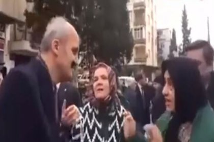 Oy isteyen AKP'li belediye başkanına yurttaştan yanıt: Pazarın poşetini dolduracak paramız yok, AK Parti bizden oy istemesin