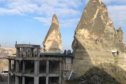 Peribacalarında 15 yapı bugün yıkılacak