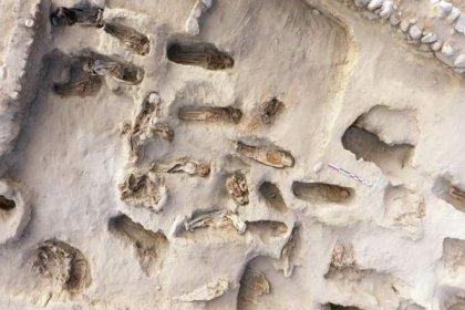 Peru'da kurban edilen çocuklara ait 500 yıllık en büyük toplu mezar bulundu