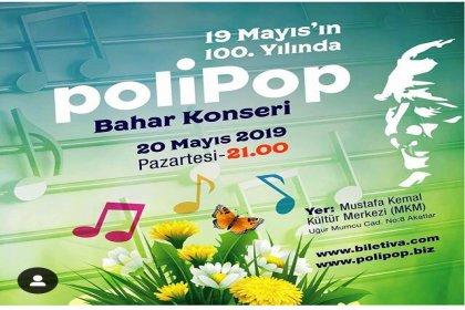 PoliPop'tan bahar konseri
