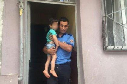 Polis, 3 yaşındaki çocuğu kurtardı, annenin tavrı şaşırttı!