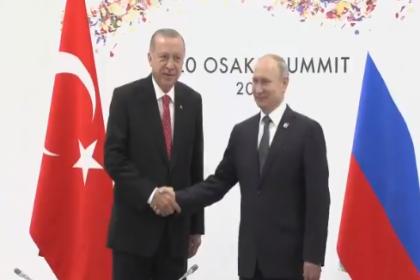 Putin ile Erdoğan, G20 Zirvesi kapsamında görüştü: 'Gözler, S-400 sevkiyatıyla ilgili süreçte'