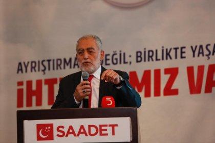Saadet Partisi İstanbul Adayı Necdet Gökçınar: Bize 'Siz seçime girmeyin' demek nezaketsizliktir. Biz size 'Seçime neden giriyorsunuz?' diyor muyuz?