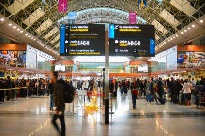 Sabiha Gökçen Havalimanı'nda dış hat yolcusu yüzde 31 arttı