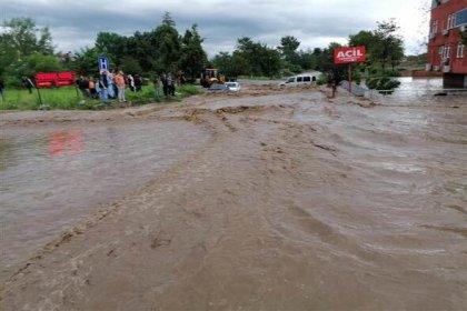 Samsun'da sel: 2 kişi hayatını kaybetti
