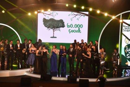 Sanatçılar, Sezen Aksu şarkılarını çocuklar ve doğa için söyledi