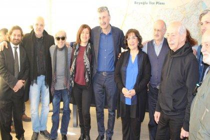 Sanatçılardan Alper Taş'a destek: 'Beyoğlu'na sosyalist Başkan çok yakışacak'