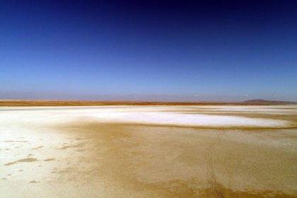 Seyfe Gölü'nde kuraklık tehlikesi