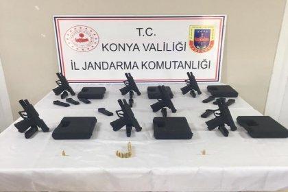 Silah fabrikası sahibi, usulsüz yolla silah satarken yakalandı