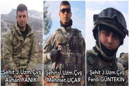 Şırnak'ta PKK saldırısında ağır yaralı askerlerden acı haber: 3 şehit, 1 yaralı