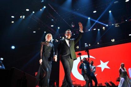 Sultanahmet Meydanı'nda Cumhuriyet Bayramı coşkusu