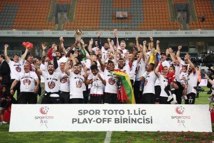 Süper Lig'e yükselen son takım Gazişehir Gaziantep oldu