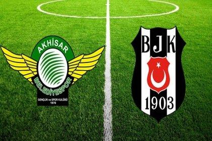 Süper Lig'in 18. haftasının açılış maçında Akhisarspor ile Beşiktaş karşı karşıya geliyor