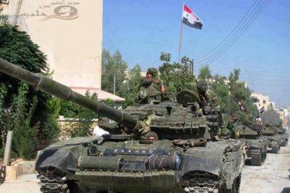 'Suriye Ordusu daha önce DSG kontrolünde olan Tabka'ya giriş yaptı'