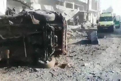 Suriye'de rejim Serakib'i vurdu: 2 ölü, 15 yaralı
