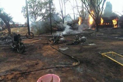 Tanzanya'da yakıt tankeri patladı: 62 ölü