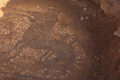 Tarihi mozaiği 30 milyon dolara satmak isterken yakalandılar