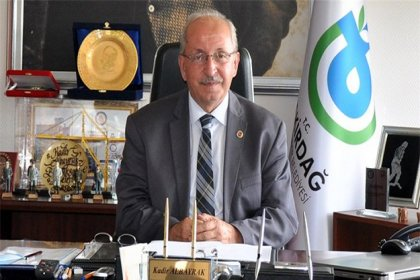 Tekirdağ Büyükşehir Belediye Başkanı Kadir Albayrak'tan taziye mesajı