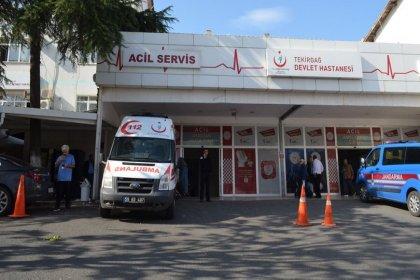 Tekirdağ'da yedikleri ıspanaktan zehirlenen 40 kişi hastanelik oldu