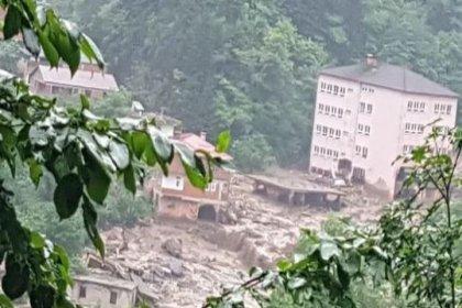 Trabzon'da HES borusu patladı: 2 kayıp, 1 yaralı