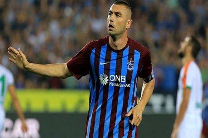 Trabzonspor, Burak Yılmaz'ı KAP'a bildirdi
