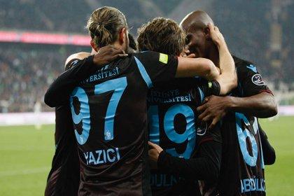 Trabzonspor, Bursaspor'u 1-0 mağlup etti