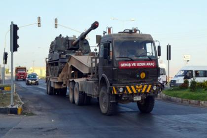 TSK'dan Irak sınırına obüs sevkiyatı