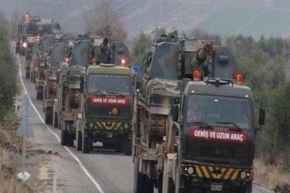 TSK'den Suriye sınırına askeri sevkiyat
