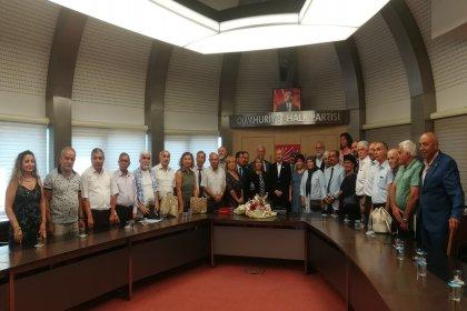 Tüm Emekli Sen'den Kılıçdaroğlu ziyareti