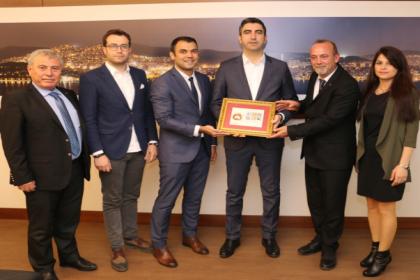 Tüm Yerel-Sen'den Kartal Belediye Başkanı Gökhan Yüksel'e tebrik ziyareti