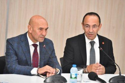 Tunç Soyer'den seçilmiş Urla Belediye başkanı Burak Oğuz'a ziyaret