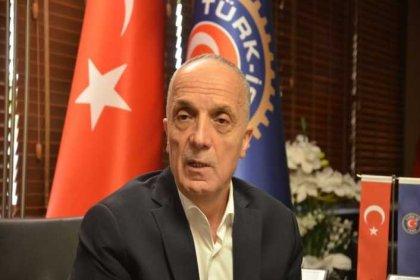 Türk-İş Başkanı Ergün Atalay: Hükümet ilk 6 ay için yüzde 5, ikinci 6 ay için yüzde 4 teklif etti. Kabul edilecek bir yanı yok