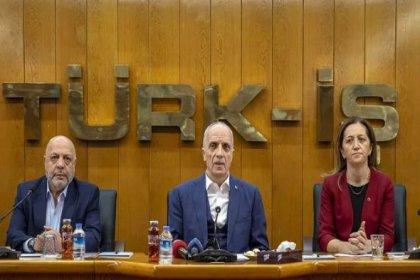 Türk-İş, Hak-İş ve DİSK'ten vergi adaleti için ortak açıklama: Anayasanın sosyal hukuk devleti ilkesine uygun bir vergi sistemi talep ediyoruz