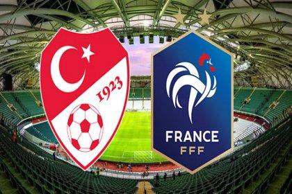 Türkiye-Fransa maçı 21.45'te