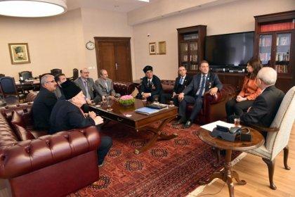 Türkiye Gazi ve Şehit Aileleri Vakfı'ndan Kılıçdaroğlu'na ziyaret