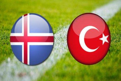 Türkiye-İzlanda maçı saat 20.00'de