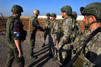 Türkiye ve Rusya Fırat'ın doğusunda 7. kara devriyesini tamamladı