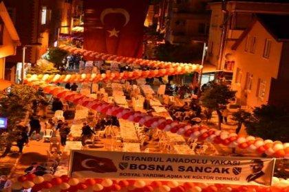 Türkiye'deki bütün dernek başkanları Bosna Sancak Derneği'nin iftarında buluşuyor
