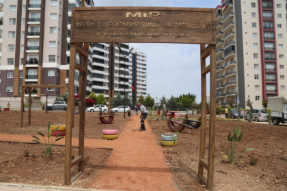 Türkiye'nin ilk tematik geri dönüşüm parkı Mezitli'de açılıyor