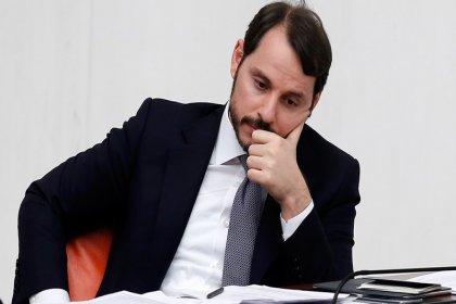 Türkiye'nin soruşturma açtığı firmanın düzenlediği toplantıda 'reformlar'ı anlatan Berat Albayrak yatırımcıları ikna edemedi!
