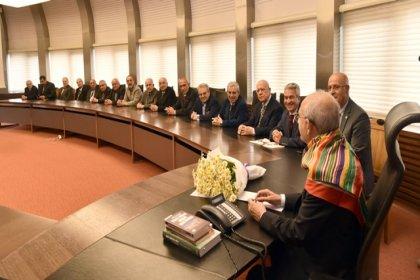 Türkmenistan Dostluk Derneği, Türk Boyları Konfederasyonu ve Yozgat Gönüller Platformu'ndan Kılıçdaroğlu'na ziyaret