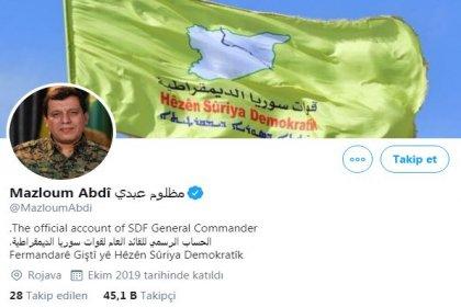 Twitter, Mazlum Kobani'nin hesabını 'mavi tik' ile onayladı
