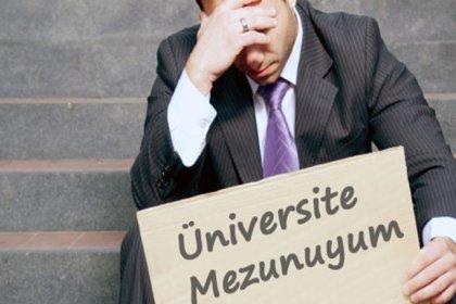 Üniversitelilerin iş bulma oranında sondan ikinciyiz
