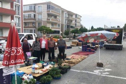 Uzunköprü Belediye Başkanı Becan'dan pazar ziyareti