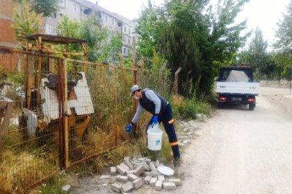 Uzunköprü'de halk sağlığı için haşereyle mücadele