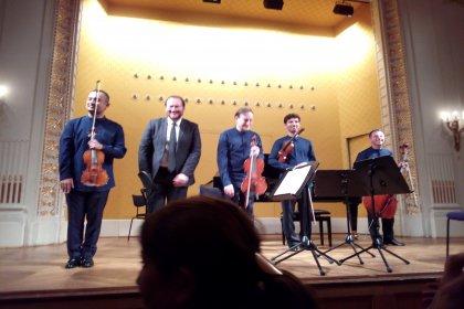 Viyana'nın en büyük konser salonunda Türk sanatçılar ayakta alkışlandı