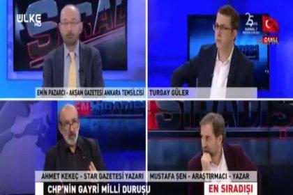 Yandaş yazardan skandal sözler: Kılıçdaroğlu, Hüseyin Aygün farklı mezhepten geliyorlar. CHP'de terörü destekleyen damarın kaynağına dikkat etmemiz gerekir