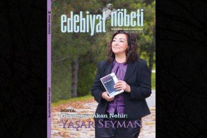 Yaşar Seyman 'Edebiyat Nöbeti'nde